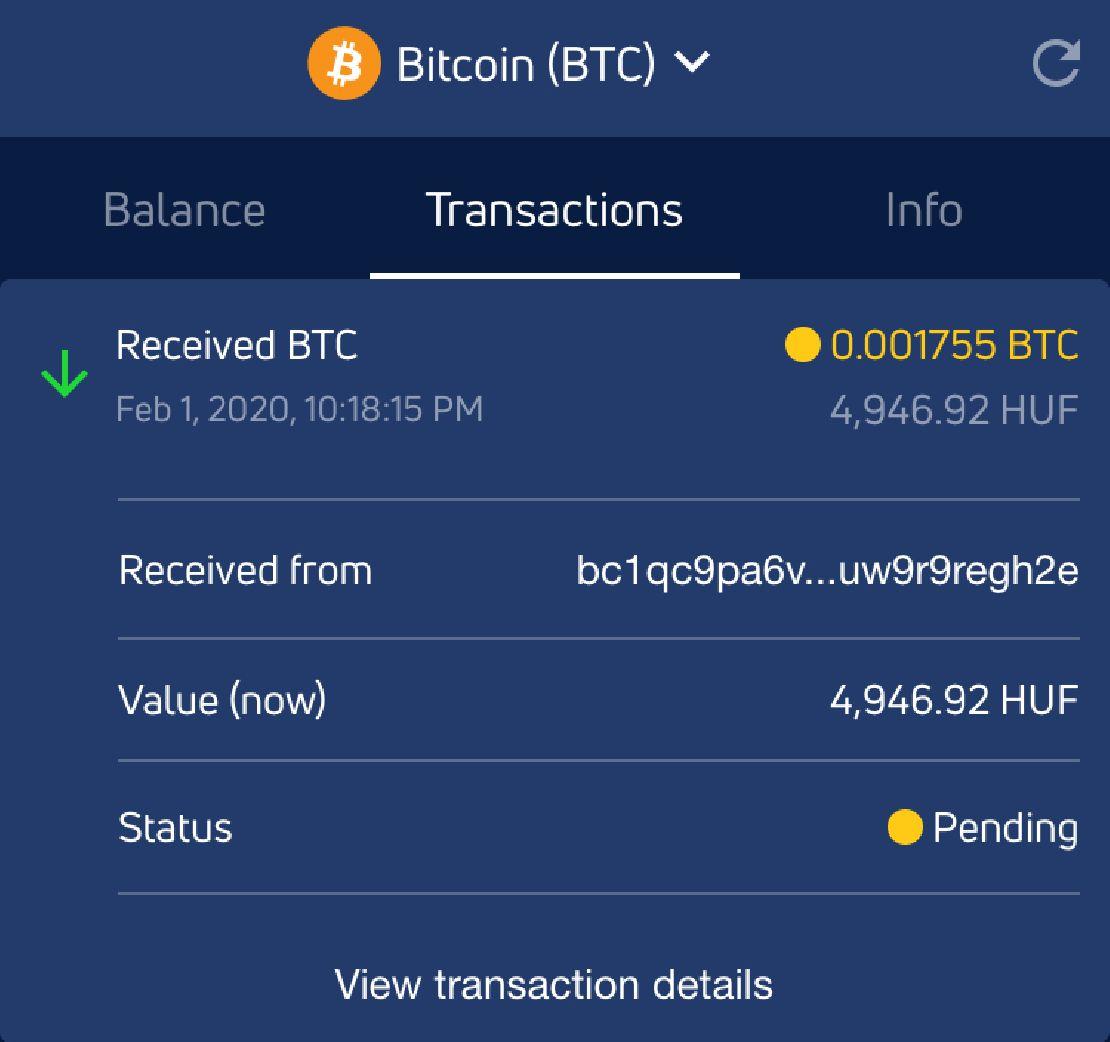 bitcoin cím a fizetések fogadásához