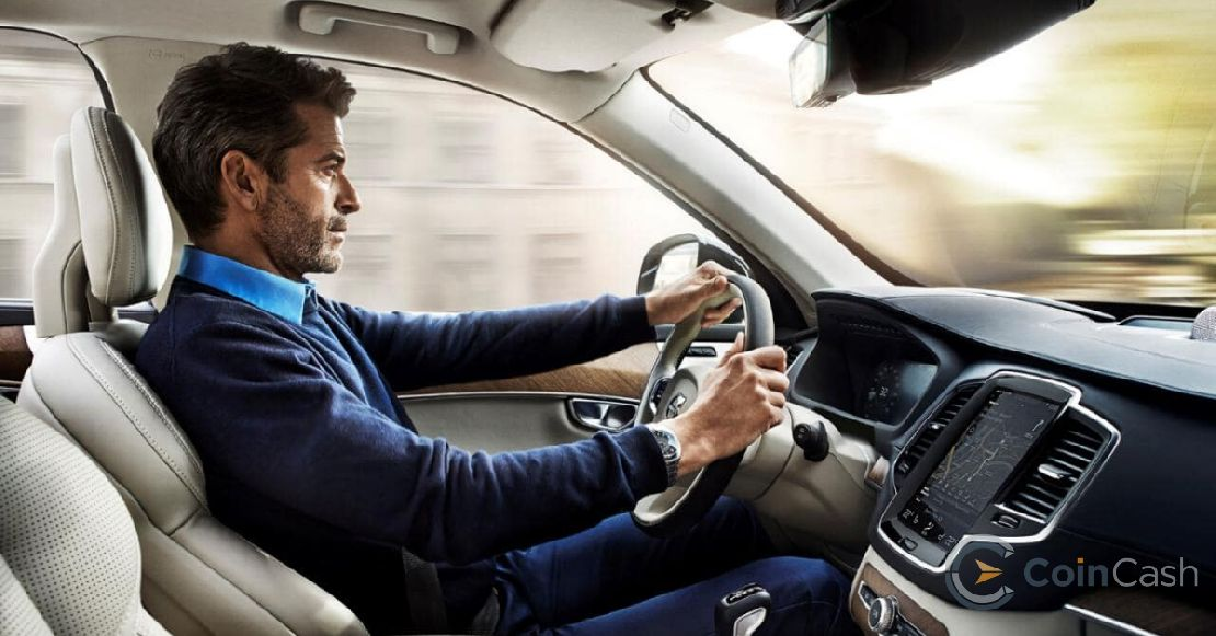 volvo_car_driving_blockchain_tracker